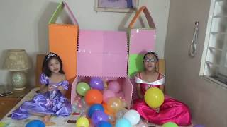 Xếp hình lâu đài công chúa | Xep hinh ngoi nha Puzzle | đồ chơi trẻ em | PA channel