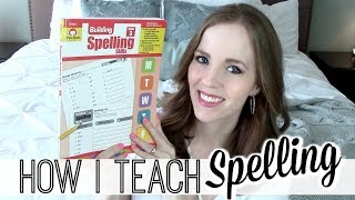 HOW I TEACH SPELLING | HOMESCHOOL SPELLING CURRICULUM |  HOMESCHOOL SPELLING REVIEW 3RD-4TH GRADE