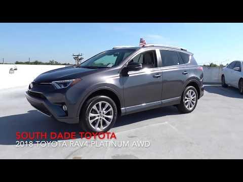 Certified Pre-Owned 2018 Toyota RAV4 Platinum