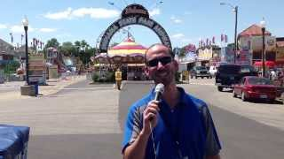2013 Indiana State Fair KIDDIE LAND Midway
