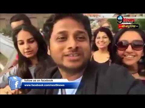 VIDEO: लंदन में बिहारियों ने झंडा गाड़ दिया… | Jhijhiya Maithili Song – Live From London Bridge