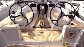 2017 Hanse 315 Sailing Yacht - Deck And Interior Walkaround - 2016 Annapolis Sailboat Show