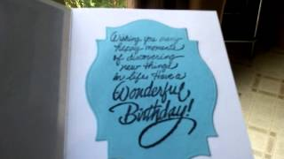 Co -worker Birthday card