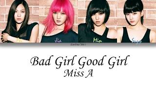 Miss A - Bad Girl Good Girl Lyrics (Han,Rom,Eng) - YouTube