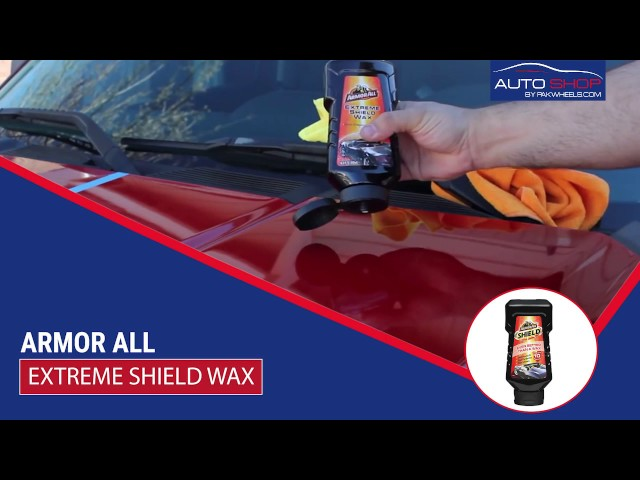 ArmorAll Shield Wax - 500ml Video