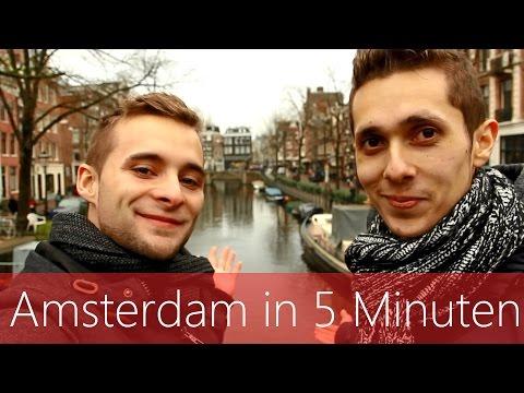Amsterdam in 5 Minuten   Reiseführer   Die besten Sehenswürdigkeiten