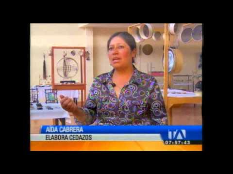 """""""Mi oficio es"""": elaboración de cedazos"""