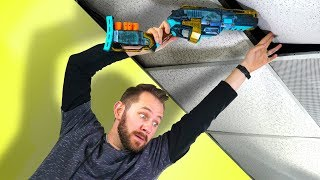 NERF Hide Your Weapon Challenge!