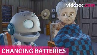 """Changing Batteries - A Robot """"Son"""" Couldn't Replace The Emptiness In Her Heart // Viddsee.com"""