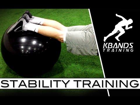 体幹の安定性が向上!バランスボールで手押し車