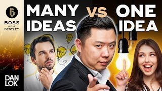 Should You Go All In On One Idea Or Try Many Out