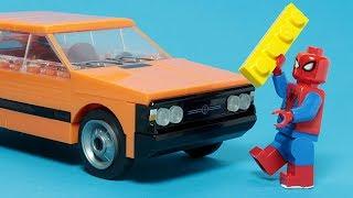 Lego Building Experimental Car Nostalgic Vehicle