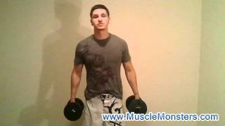Home Shoulder Workout - Deltoid Exercises (Dumbbells Only)