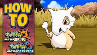 HOW TO GET Cubone in Pokemon Ultra Sun and Moon