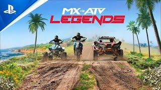 PlayStation MX vs ATV: Legends - Announcement Trailer | PS5, PS4 anuncio