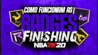 NBA 2K20 Dicas #01: COMO FUNCIONAM AS BADGES DE FINISHING!