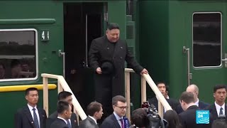 North Korean leader arrives in Russia for talks