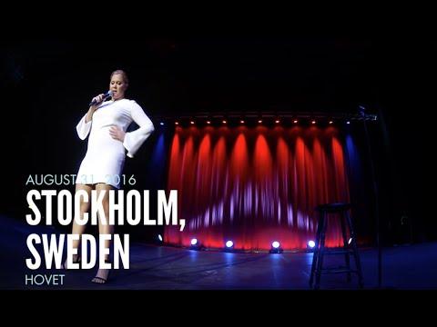 Frekk svenske fikk høre det av verdenskjent komiker