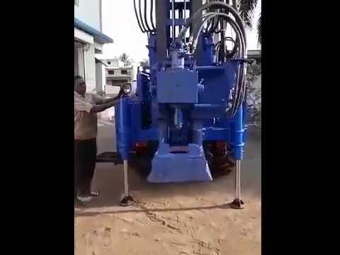 DTH Drilling Machine On Tractor