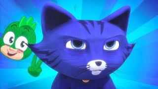 PJ Masks 🖤Catboy's Coolest Power Ups! 🖤Season 2 Night of the Cat | HD | Superhero Cartoons for Kids