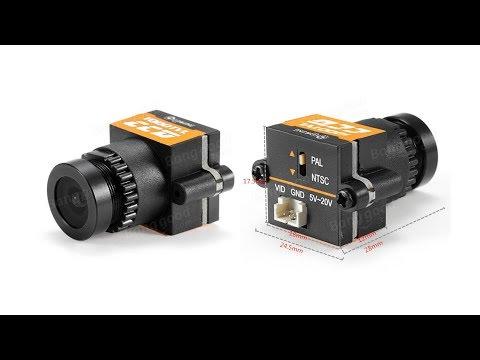 Daylight test-run with the Eachine 1000tvl CCD camera (light-dark transitions)