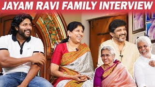 சாதாரண ஓட்டு வீட்டுலதான் இருந்தோம் - Jayam Ravi Family Interview