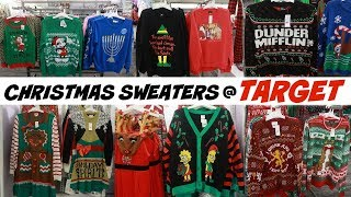 TARGET * 2019 UGLY CHRISTMAS SWEATERS!!! SHOP WITH ME