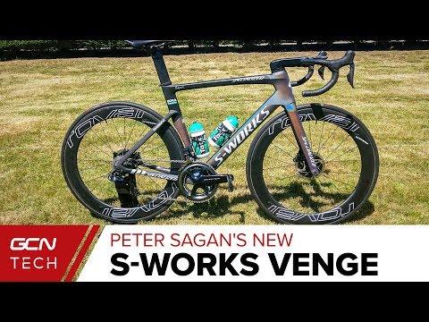 8c468dc0fc7 Peter Sagan's S-Works Venge Disc | Tour de France 2019 Pro Bike