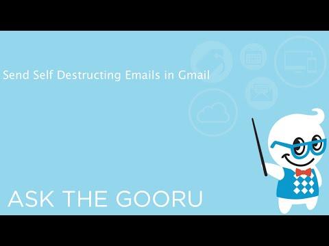 Изпращане на Самоунищожаващи се Мейли от Gmail