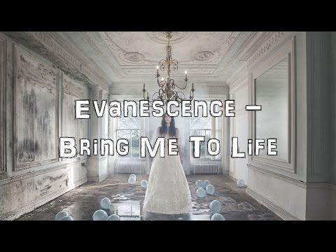 Evanescence - Bring Me To Life [Acoustic Cover.Lyrics.Karaoke]