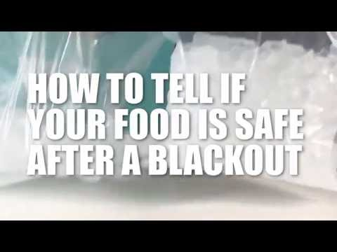How to Tell if Your Food is Safe After a Blackout