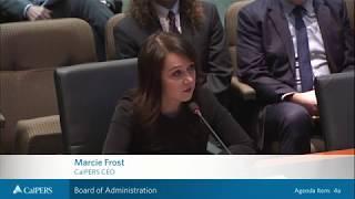 CalPERS Board of Administration Meetings April 2018