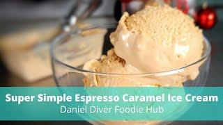 Espresso Caramel Ice Cream