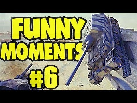 WOT FAILS & WINS #6 World of Tanks Funny Moments