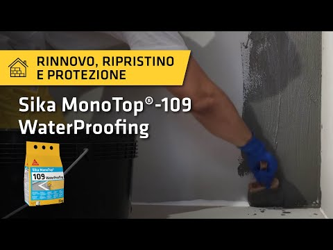 Tutorial: Sika MonoTop® - 109 WaterProofing