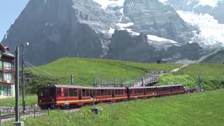 Train Trip From Jungfraujoch To Grindelwald