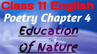 poems in english for class 7 on nature - TH-Clip