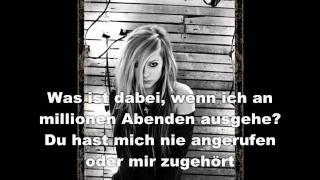 Avril Lavigne  What The Hell übersetzung