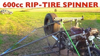 CAGED 600cc RIP-TIRE SPINNER