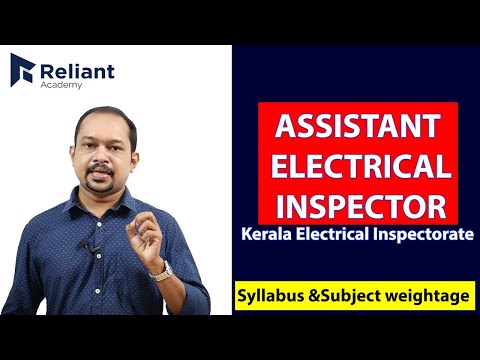 Reliant Academy| Kerala PSC |Assistant Electrical Inspector ...