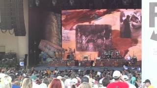 Start of Jimmy Buffett Show in Indianapolis 6/27/13