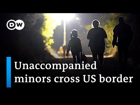 Record number of children crossing US border on their own | DW News
