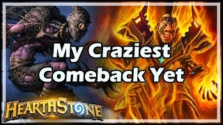 My Craziest Comeback Yet - Witchwood / Hearthstone