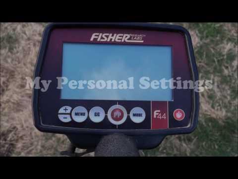 Metal Detecting - Fisher F44 Tips, Settings, Review