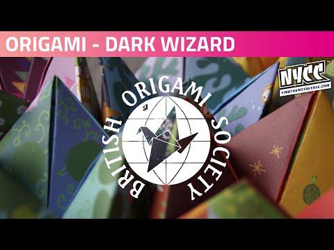 Origami with Reedpop | Let's Make.....A Dark Wizard