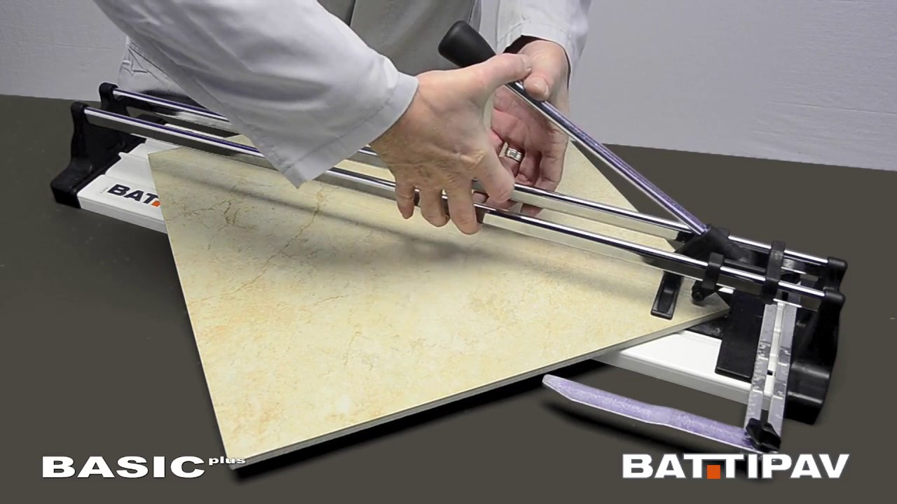 Ручной плиткорез серии Basic Plus 400мм