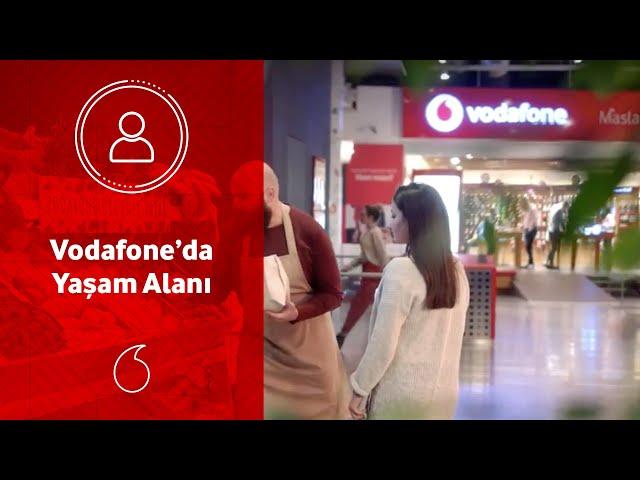 Sadece çalışma alanı değil, yaşam alanı; Vodafone'da.