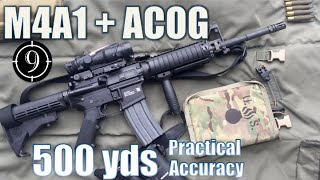 M4A1 + ACOG to 500yds: Practical Accuracy (FN15 Standard rifle)