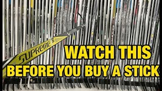 5 things EVERY hockey player should know about sticks before buying