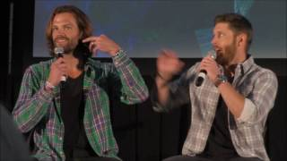 Дженсен Эклз, PittCon Jared Padaleki and Jensen Ackles FULL Main Panel 2016 Supernatural